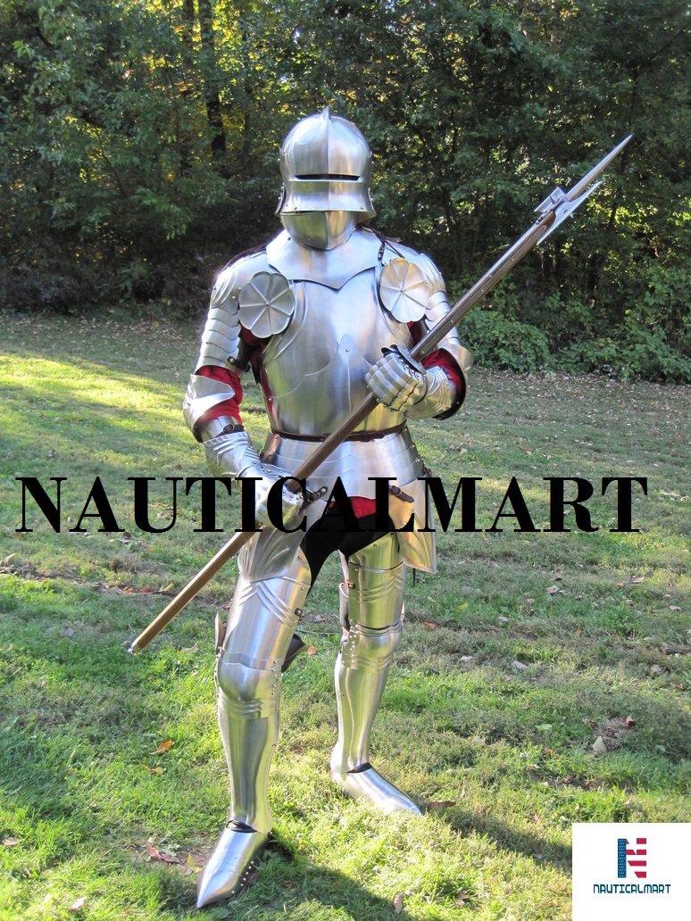 NauticalMart German Medieval Knight Suit Of Armor Halloween Costume