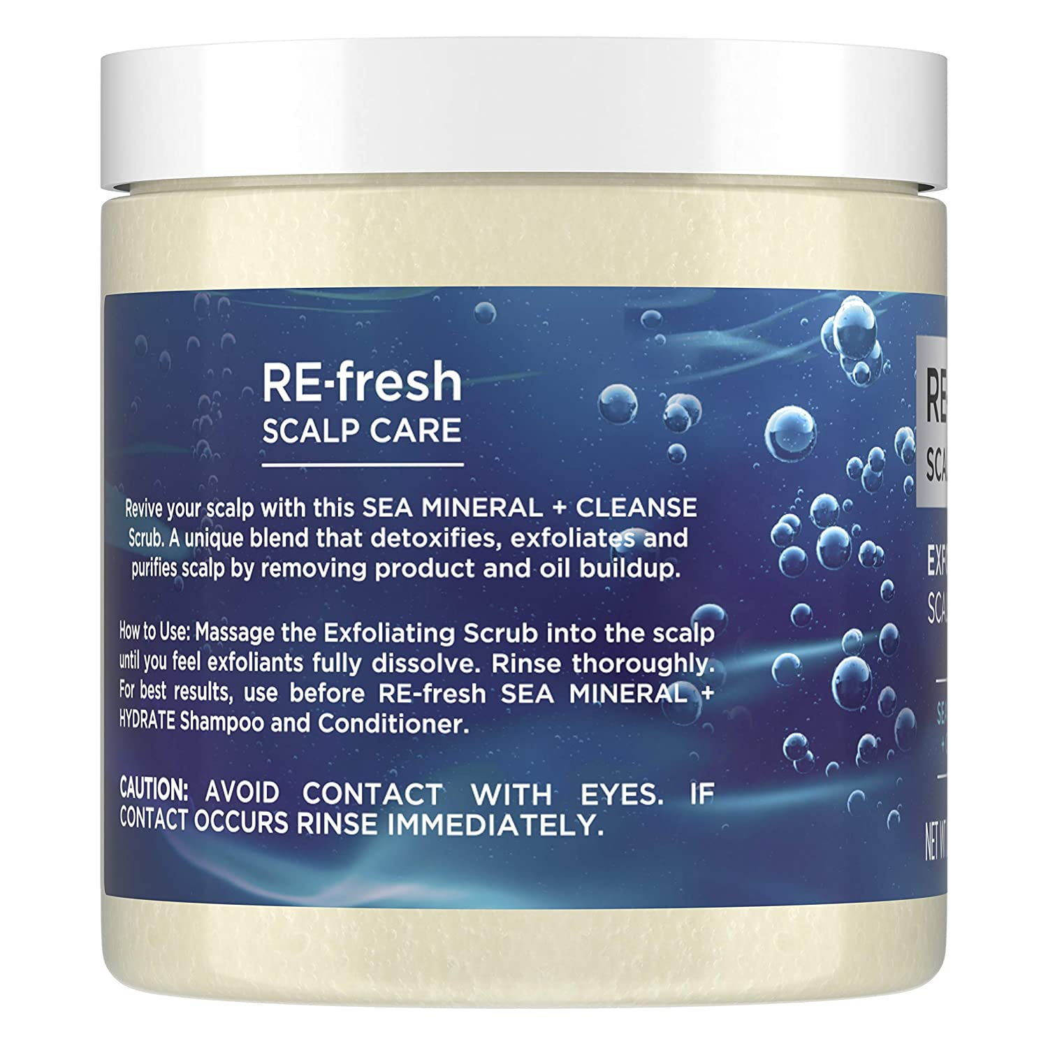 Amazon Com Re Fresh Scalp Care Exfoliating Scalp Scrub Sea