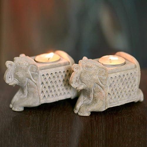 NOVICA Candle-Holder-Sets Candle Holder