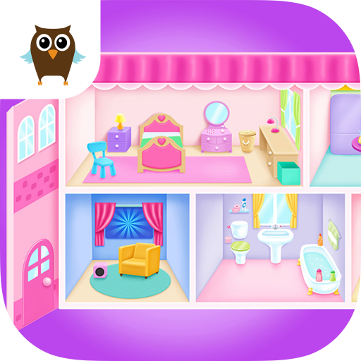 Doll House Cleanup & Decoration - Bedroom, Kitchen & Bath Designer