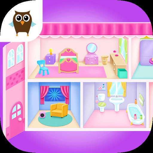 Doll House Cleanup & Decoration - Bedroom, Kitchen & Bath Designer - Clean Bedroom