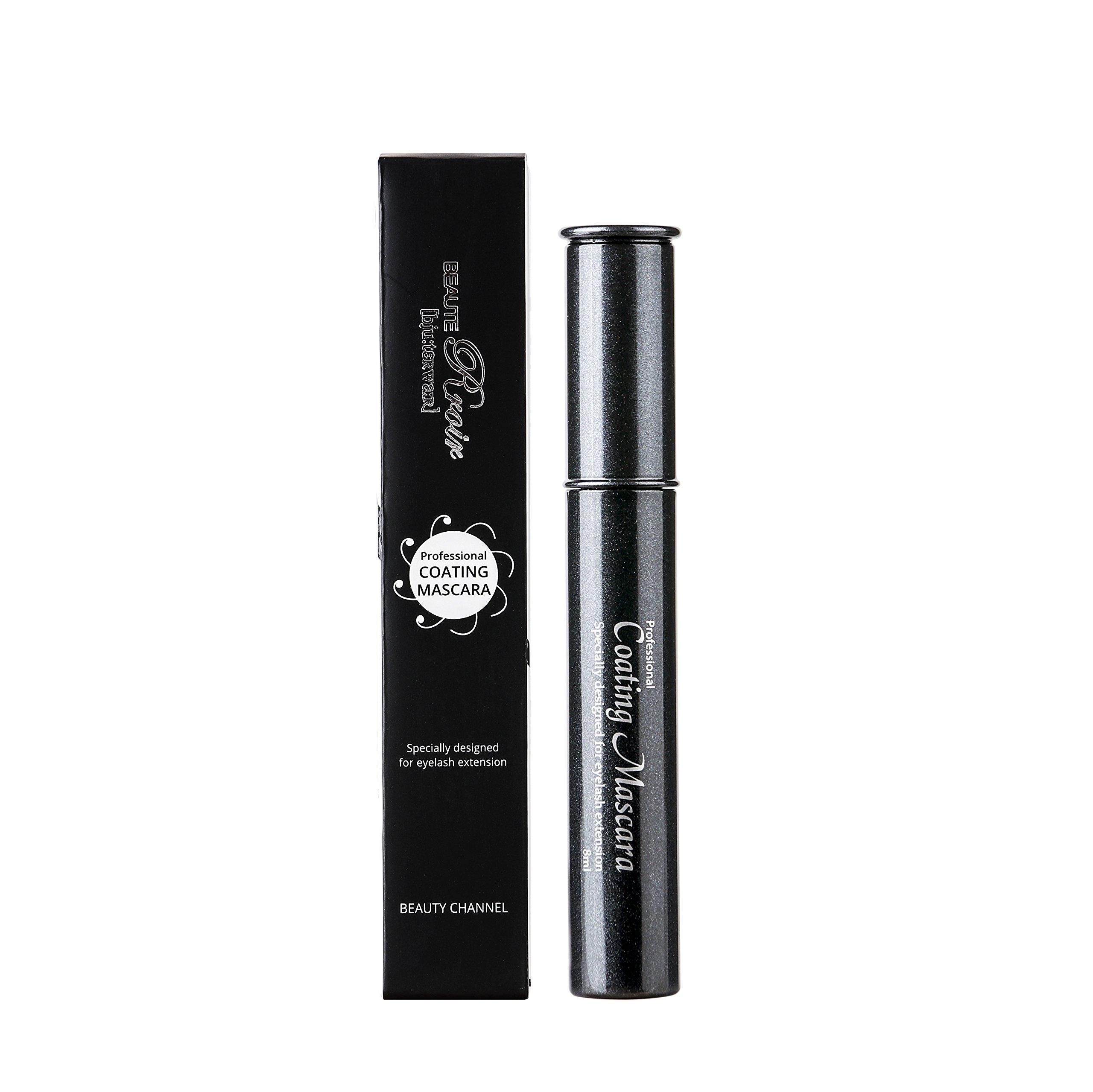 Eyelash Extensions Coating Sealant / Increase Lasting time / BEAUTE Rroir Coating Mascara 8ml (Lot of 10)