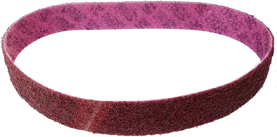 Juego de 4/Premium Set 3/m Scotch-Brite Fieltro banda//cinta abrasiva SC de BL   50/x 1020/mm, por ejemplo para Metabo BS 175//BS 200/  por una banda de grano a de CRS, a de Med a de vfn y a de SFN