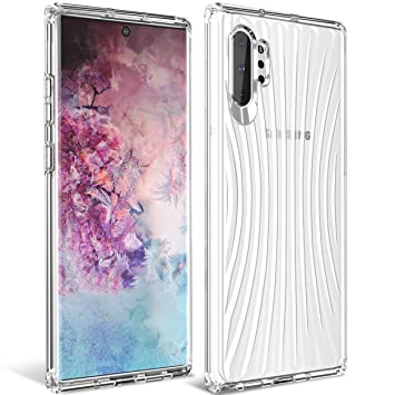 iBetter para Funda Samsung Galaxy Note 10+ /Note 10 Plus Funda, TPU con Superficie Mate Silicona Fundas para Samsung Galaxy Note 10+ /Note 10 Plus ...