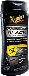 Meguiar's G15812 Black 12 oz. Plastic Restorer