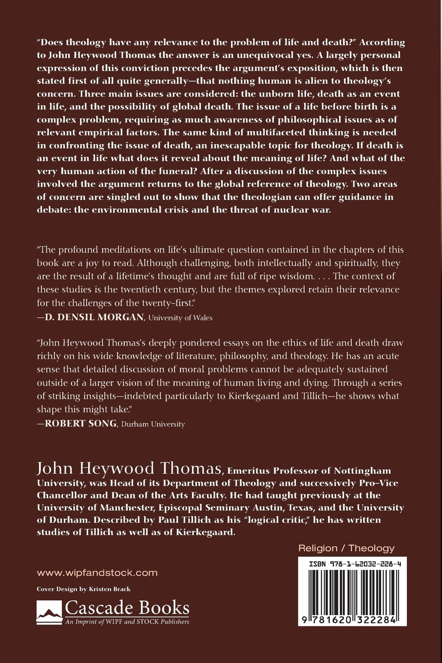 theology and issues of life and death john heywood thomas theology and issues of life and death john heywood thomas 9781620322284 com books