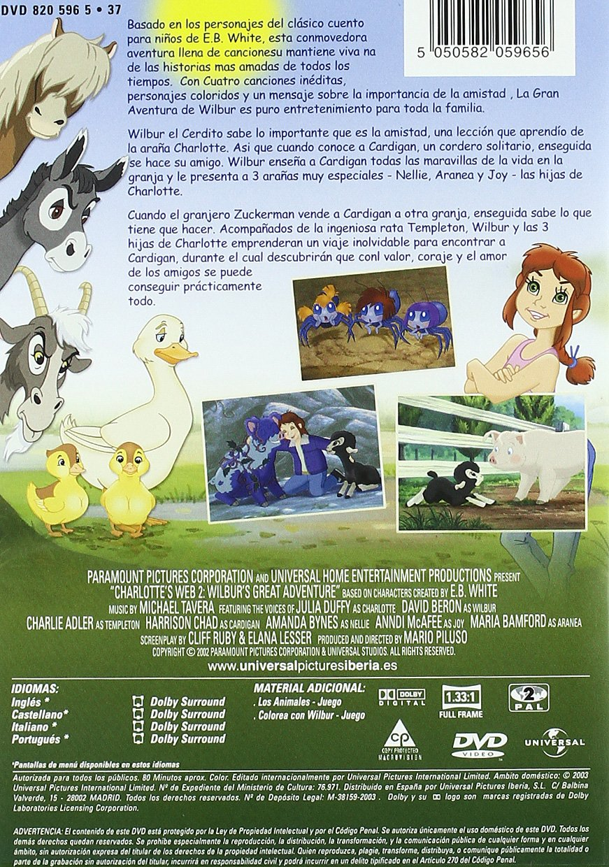La gran aventura de Wilbur [DVD]: Amazon.es: Mario Piluso: Cine y ...