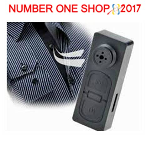 -thenumberoneshop -- Botón Artificial con cámara oculta 4 GB de memoria para effettuare