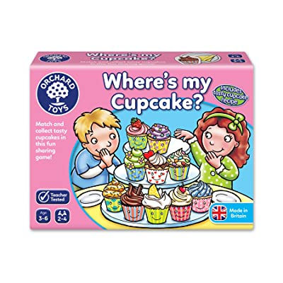 Orchard Toys Where's My Cupcake? Board Game: Toys & Games