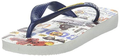 884e7d3a0 Havaianas Unisex Kids  Emoji Movie Flip Flops  Amazon.ca  Shoes ...