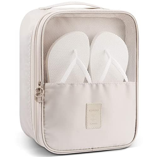 cd7d2816e99f Mossio Shoe Bag Holds 3 Pair of Shoes for Travel and Daily Use Storage Pouch