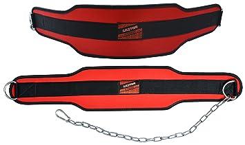 Cinturón lastrado con soporte lumbar de neopreno Ultra Fitness® de 15 cm de
