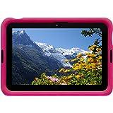 Bobj Rugged Case for ASUS MeMO Pad FHD 10 (ME302C) Tablet - BobjGear Custom Fit - Sound Amplification - BobjBounces Kid Friendly .. (Not for MeMO Pad Smart10 ME301T) (Rockin' Raspberry)