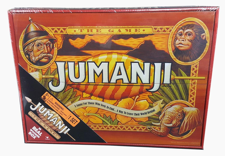 Jumanji Board Game In Wooden Case Exclusive