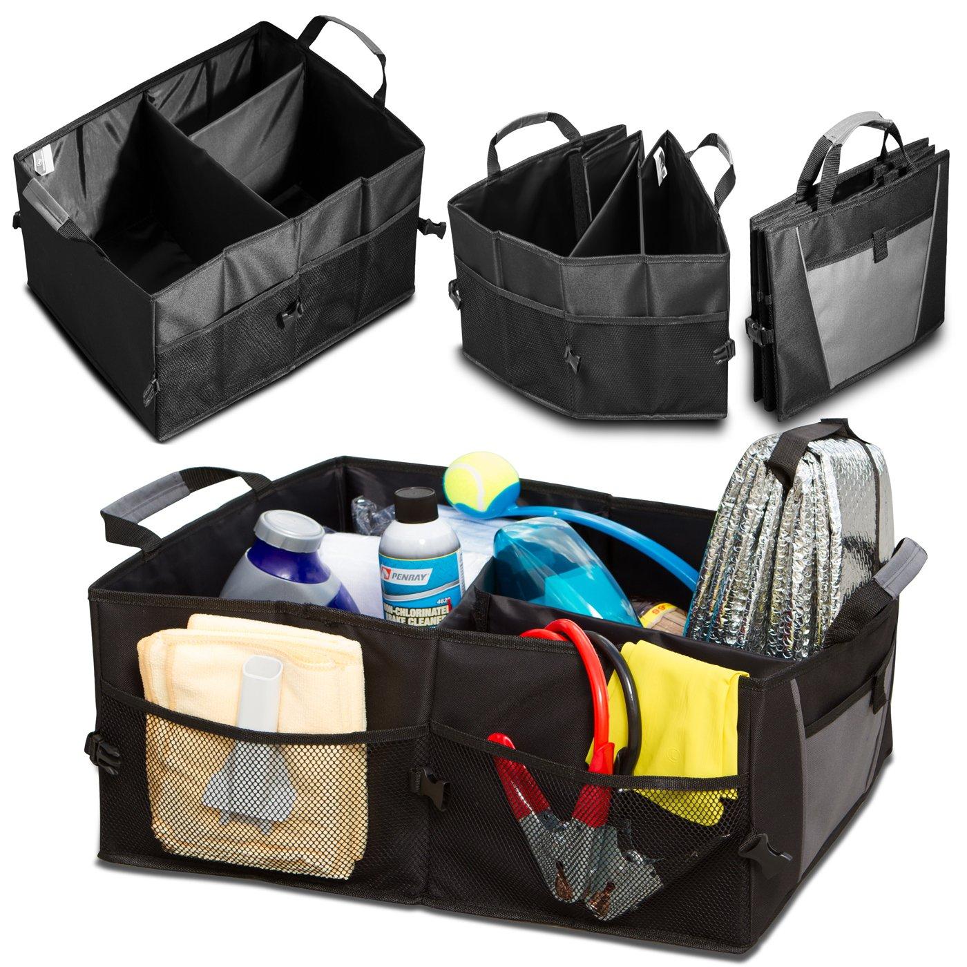 Auto Trunk Storage Organizer B...