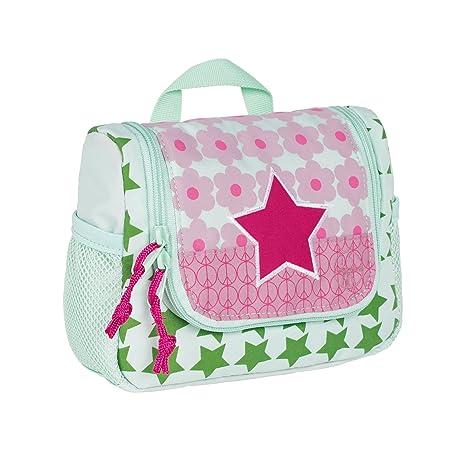 LÄSSIG Bolsa de aseo para niño/ Mini Washbag, Starlight magenta