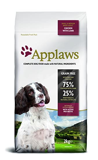 Applaws Natural Complete Dry Dog Food Small Medium Breed Adult
