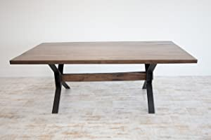 "NEBO Wasatch Luxury Walnut Table (2"" Solid Wood) Tables"
