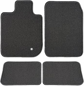 2017 GGBAILEY D51549-S2A-BLK/_BR Custom Fit Car Mats for 2016 Passenger /& Rear Floor 2018 Audi Q7 Black with Red Edging Driver
