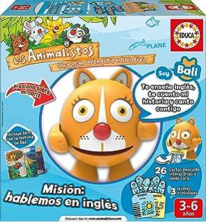 Educa Borrás - Los Animalistos Bali: Misión comunicarse en inglés (17248)