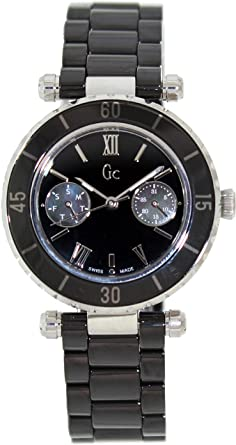 8ae88dd72 Amazon.com: GUESS GC Ceramic Ladies Watch G35003L2: Guess Collection ...