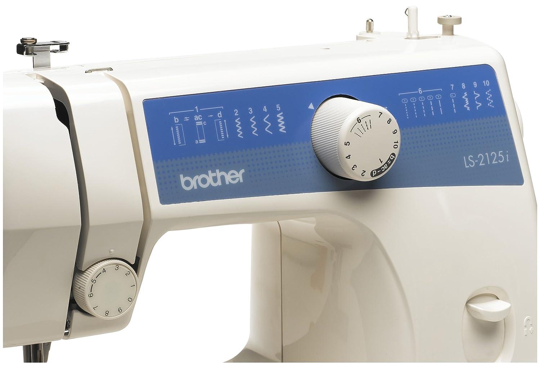 brother ls 2125i sewing machine sewing machine manual white rh amazon co uk brother sewing machine ls 2125 instruction manual brother sewing machine ls 2125 manual
