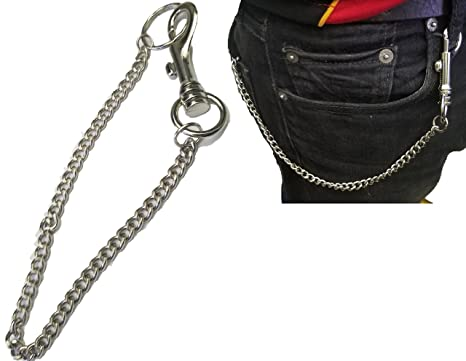 Amazon.com: Hombre cadena de portafolios Biker llavero Jeans ...