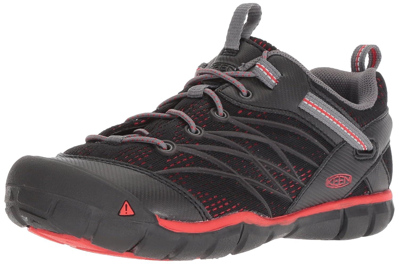 KEEN Chandler CNX Shoe B077BVMY6W 1 M US|Raven/Fiery Red