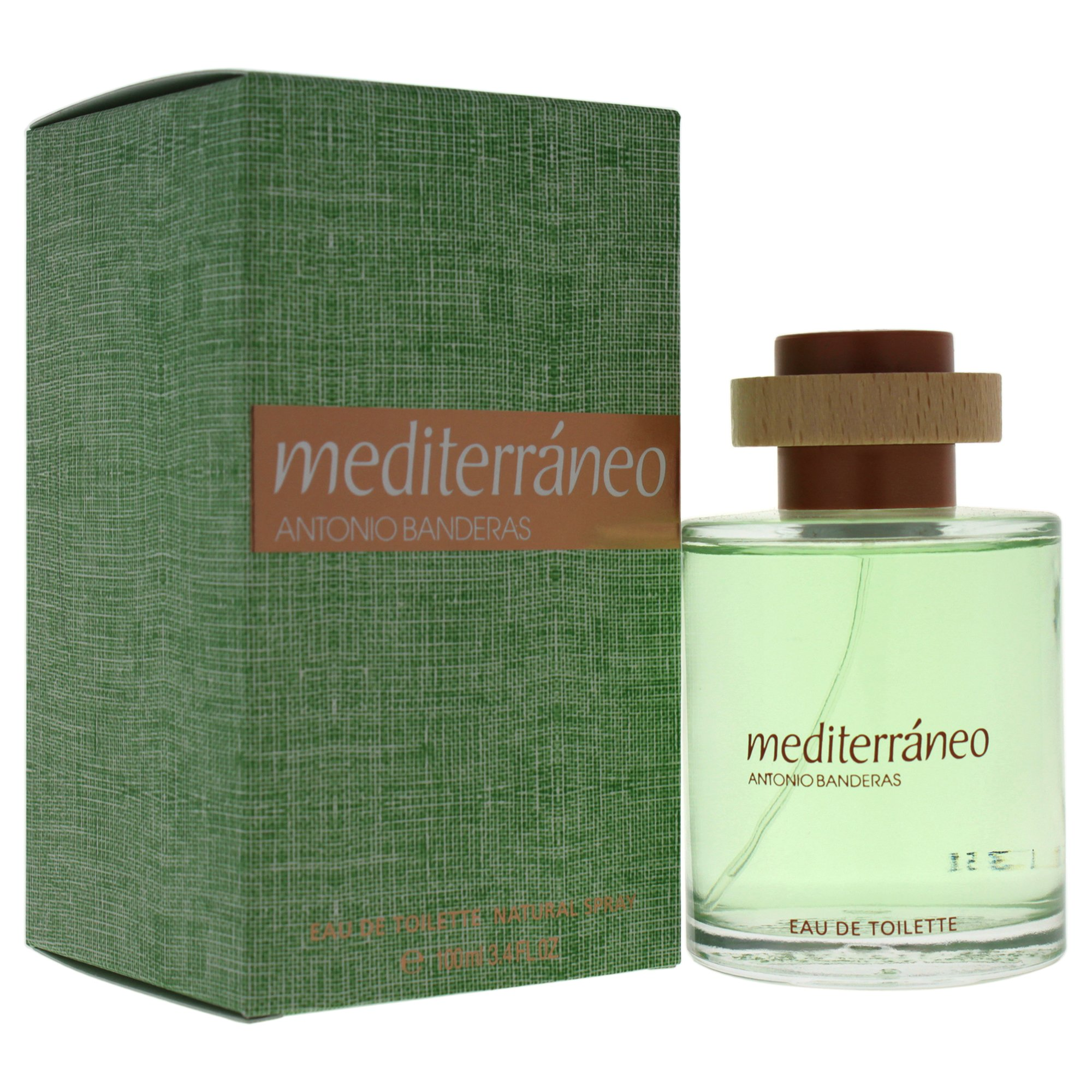 Perfume Mediterráneo Antonio Banderas Masculino Eau de Toilette 100 ml