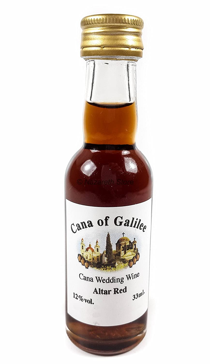 cana of galilee red wine is available in a 40ml glass bottle weighing 135g the red wine has a distinct sweet taste as itu0027s made from the finest red grapes - Best Red Wine
