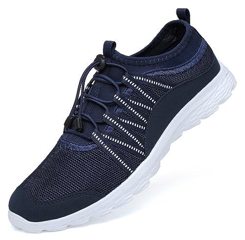 Mesily Scarpe da Corsa Uomo Ultraleggero Sneaker Comode e Traspiranti Scarpe  Casual per Camminare Correre Palestra cfe7454edab