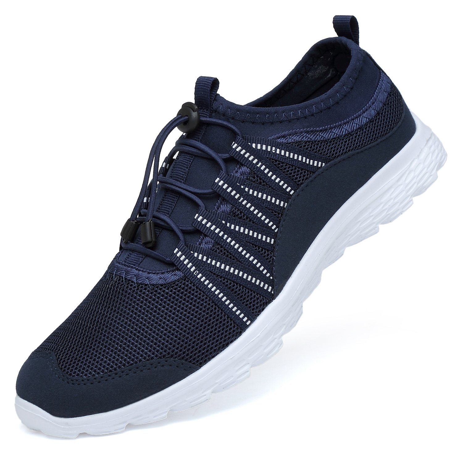 Men's Lightweight Walking Shoes Breathable Mesh Soft Sole for Casual Walk Outdoor Workout Travel Work by BELILENT