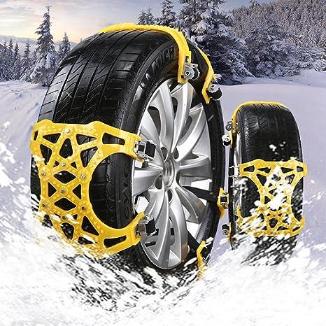 Nieve cadena antideslizante, Universal coche neumáticos carretera seguridad emergencia de los neumáticos antideslizante Tire correas