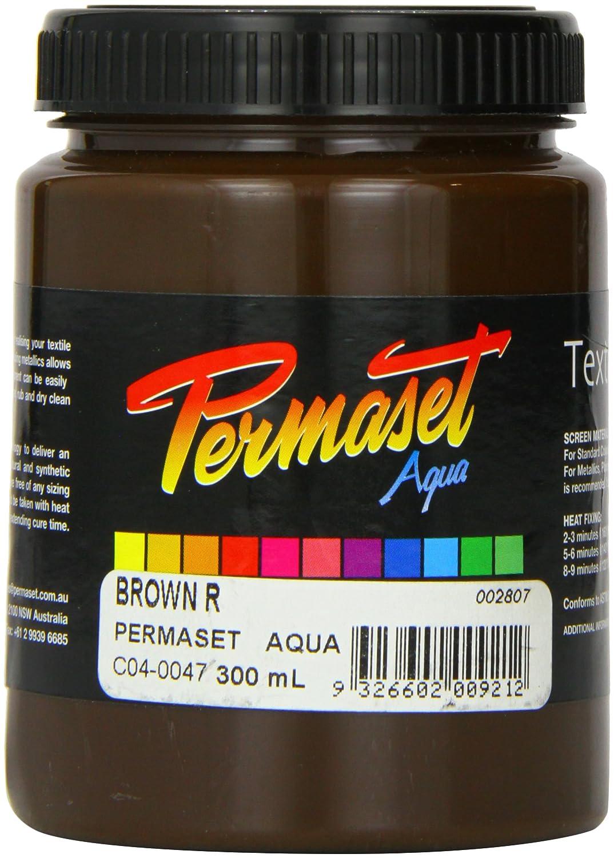 Permaset Aqua - Tinta para serigrafía textil (300 ml, ecológica, color rojo brillante) Colormaker SR002307