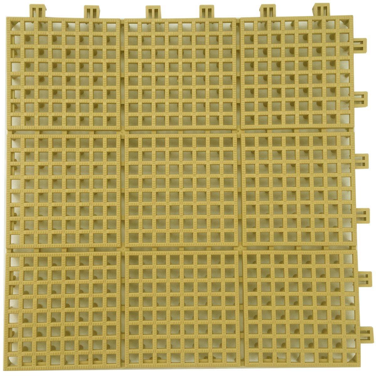 LIXIL(リクシル) INAX バルコニー用ユニットタイル セライージー副部材 納まり用樹脂マット ライトベージュ TFU-F300/LB B01ERPTEIM 10335 ライトベージュ ライトベージュ