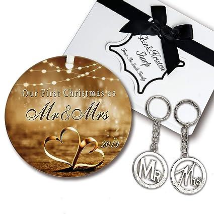 Christmas Gift Sets 2019 Amazon.com: Wedding Gift Set   Elegant Our First Christmas