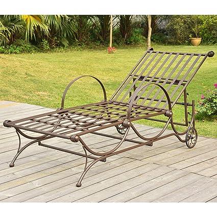 Amazon.com: International Caravan Wave - Chaise lounge ...