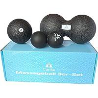 Curiba Faszienbälle Massagebälle - Einzelball, Duoball, 3er-Set oder 4-in-1 Kombi - Ausführliche Anleitung