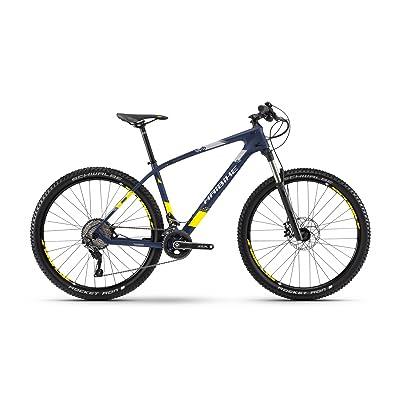 "'Haibike vélo Greed HardNine 7.0Carbon 29""22-velocità taille 45Bleu/Jaune 2018(VTT ammortizzate)/Bike Greed HardNine 7.0Carbon 2922-speed Size 45Blue/Yello"