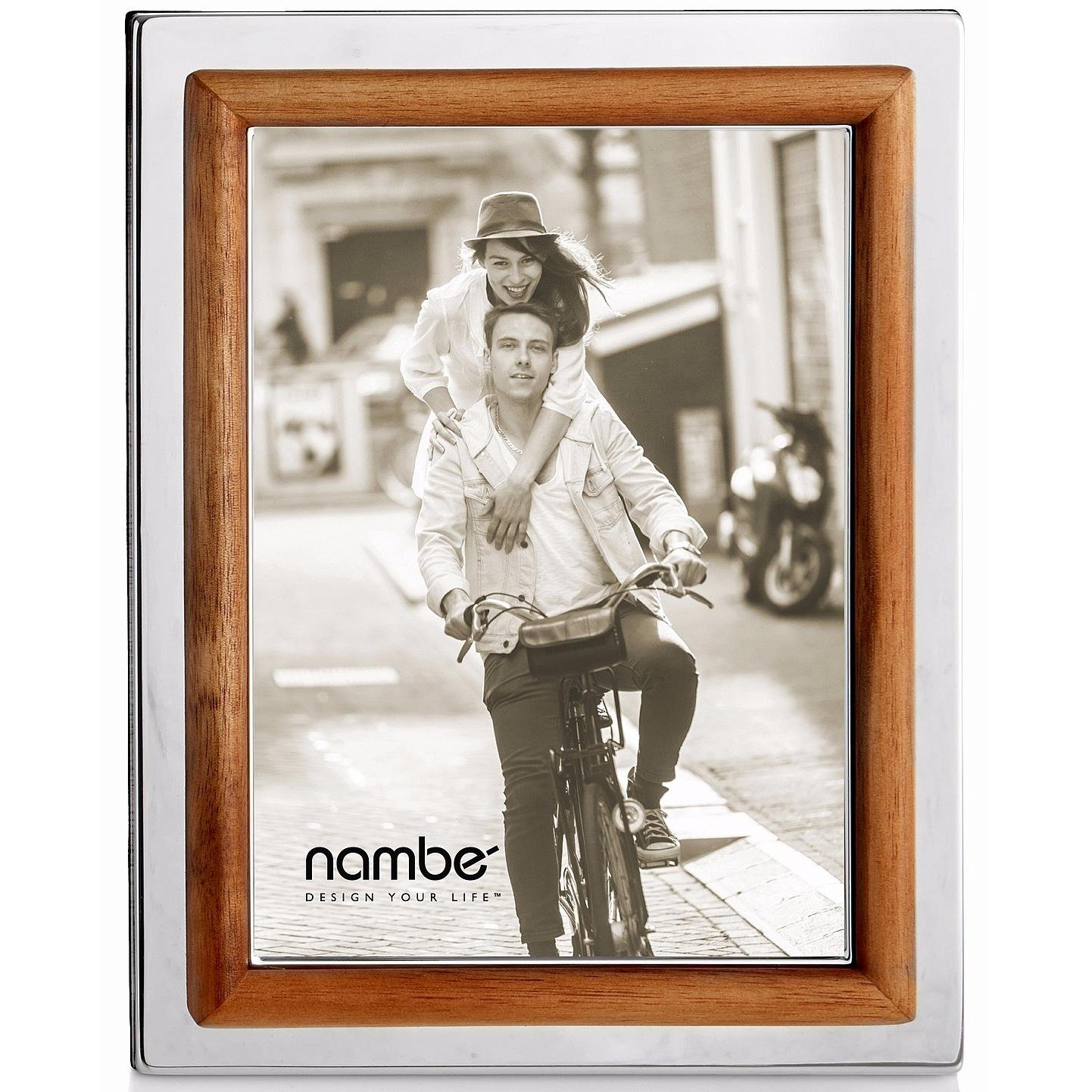 Nambe Hayden Picture Frame, 8'' x 10'' by Nambè
