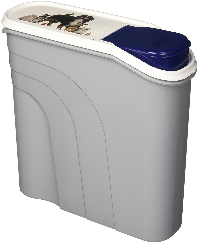 Rotho Aufbewahrungsbox für Tierfutter aus Kunststoff (PP) - Trockenfutterbehälter für Hunde, Katzen, Vögel, Fische und andere Kleintiere Vögel 4550110496