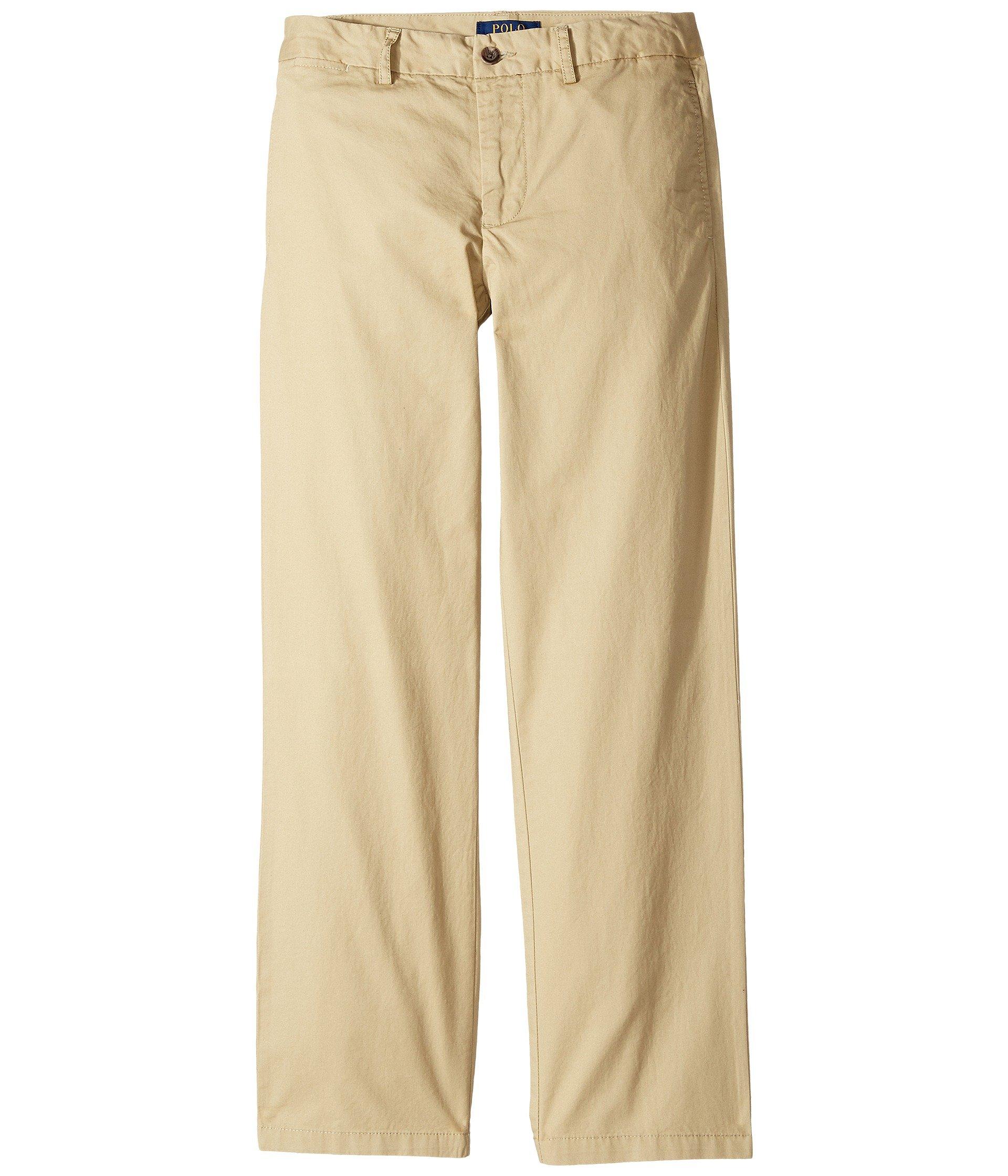 Polo Ralph Lauren Boys Chino Pants (20, Khaki) by Polo Ralph Lauren