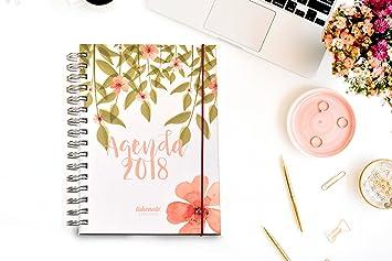 Agenda Takenote Flores: Amazon.es: Oficina y papelería