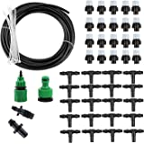 30 Ft Micro Irrigation System for Garden Patio Greenhouse Cooling Misting Sprinkler