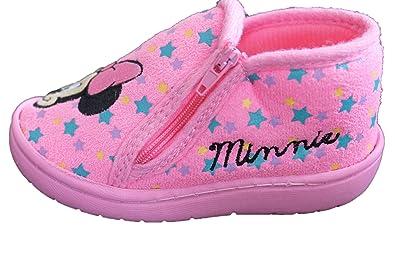 1061f79922974 Disney Minnie-Beau Chausson Minnie-Rose-Fille  Amazon.fr  Chaussures ...