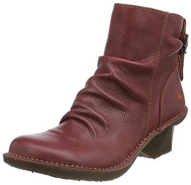 9b8f228eb53af9 ART 639, Bottes Classiques Femme - Rouge - Rouge (Amarante), 38 EU:  Amazon.fr: Chaussures et Sacs