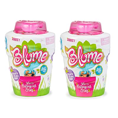 Blume Series 1 - New Friend Will Before Your Eyes! - Set of 2 with 10 Surprises Inside of Each: Toys & Games