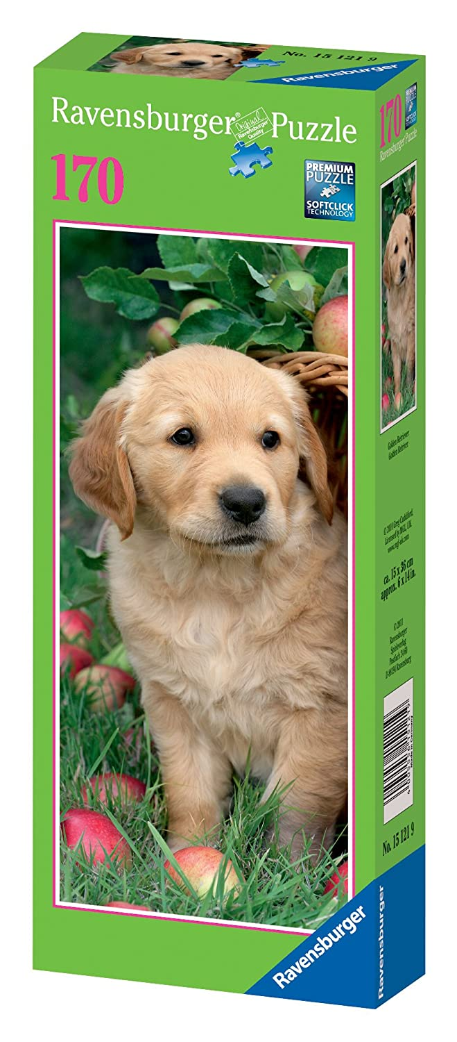 Ravensburger 15121 - Golden Retriever - 170 Teile Puzzle