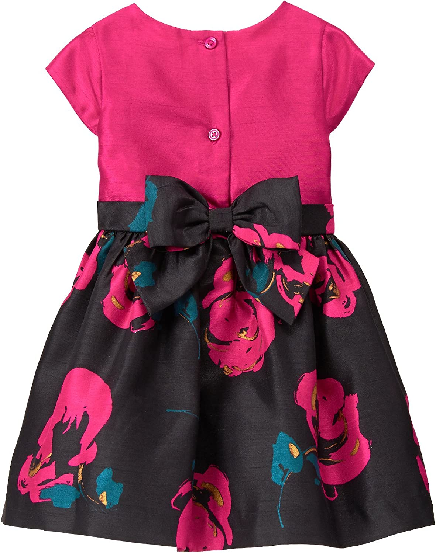Brand NEW Choose Size Little Girls Pink Ruffle Dress w// Bow by Gymboree