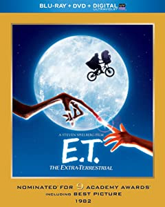 E.T. The Extra-Terrestrial (Blu-ray + DVD + Digital with UltraViolet)